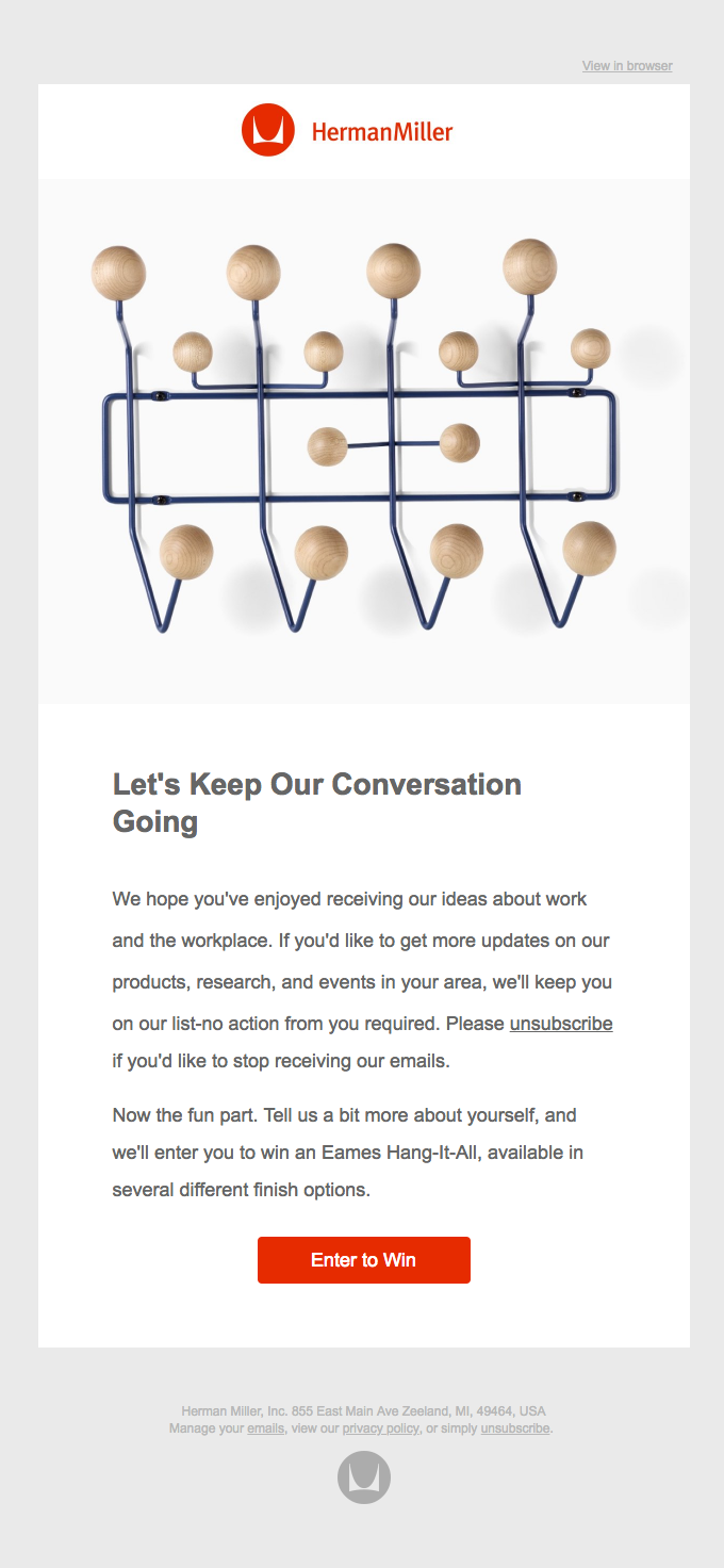 Eames Hang-It-All Giveaway