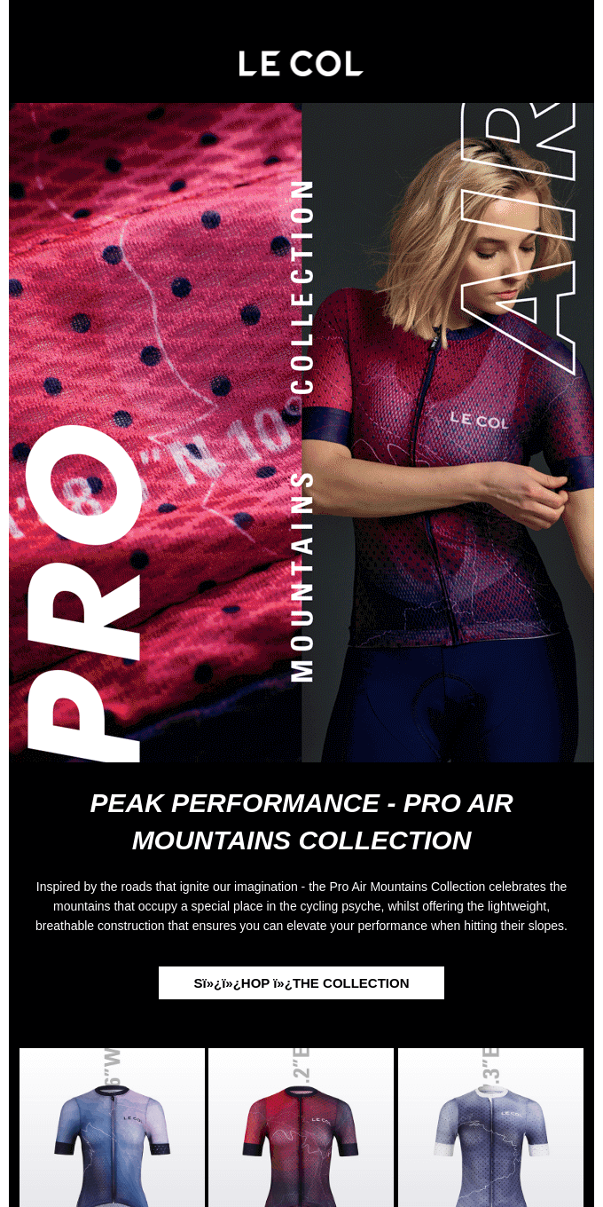 Elevate Your Ride With The Pro Air Mountains Collection
