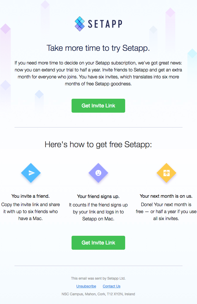 Enjoy Setapp for free again