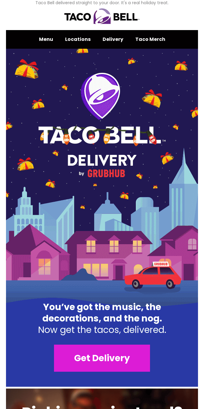 🎵Fa la lots of tacos, for your friends 🎵