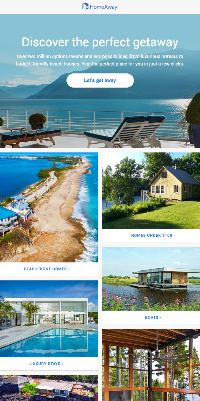 Find the perfect home for every getaway