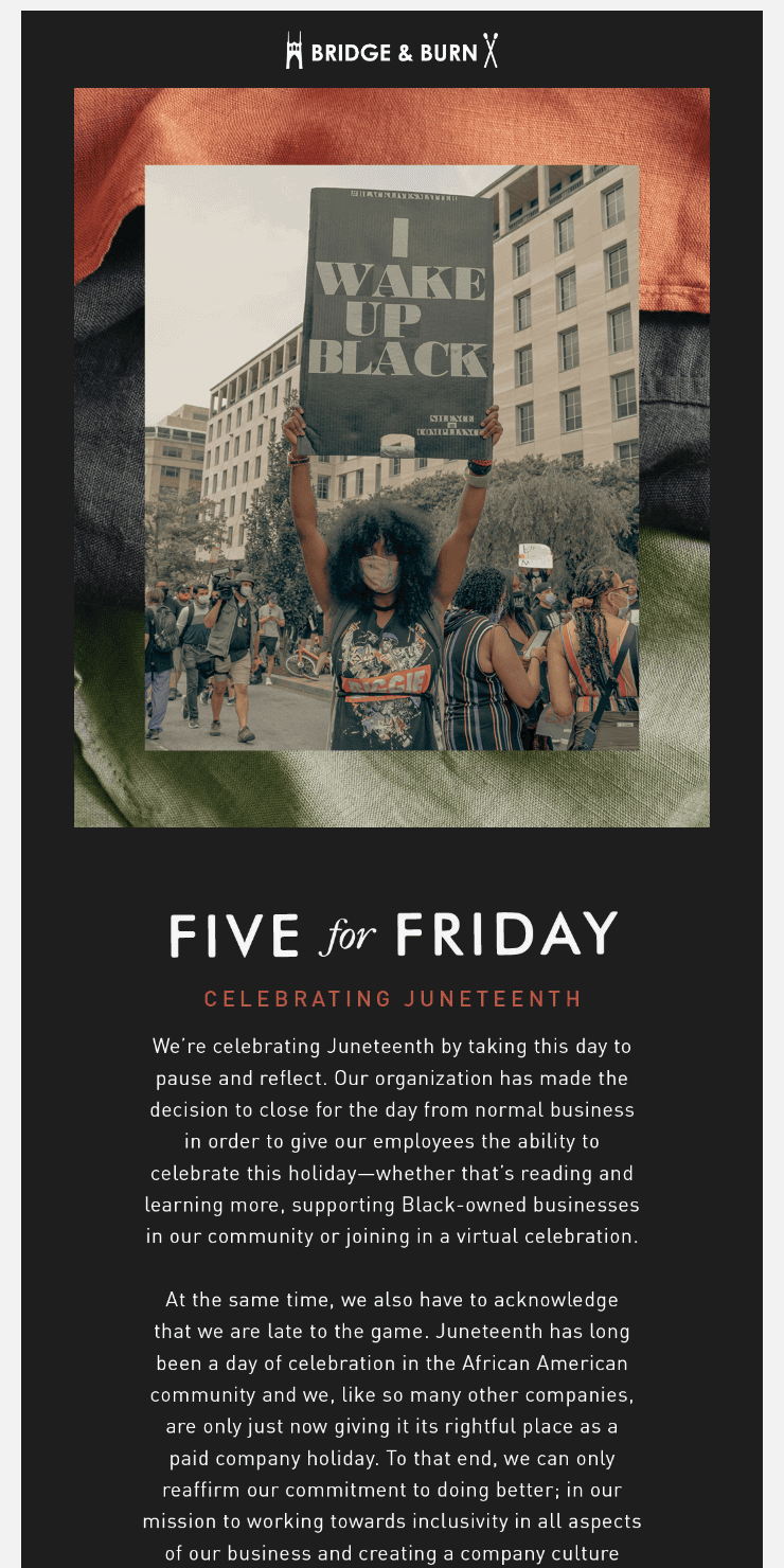 Five for Friday: Celebrating Juneteenth