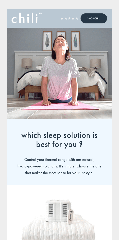 Flip your sleep switch + double your deep sleep! 🌅