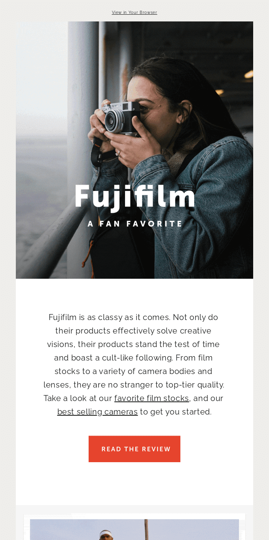 Fujifilm Strikes Back
