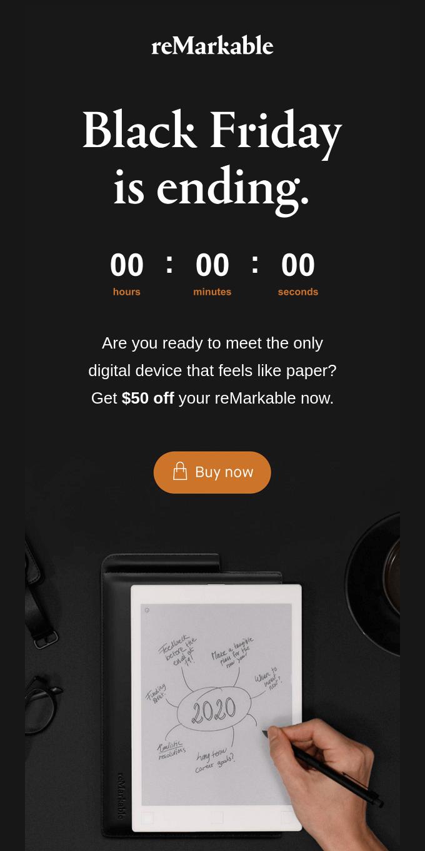 Get $50 off your reMarkable paper tablet
