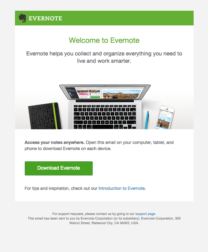 Get Started with Evernote   Really Good Emails