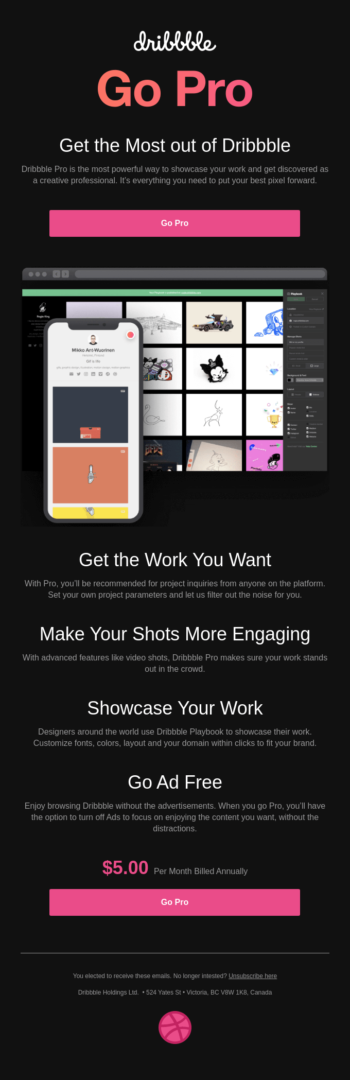 Get the most out of Dribbble