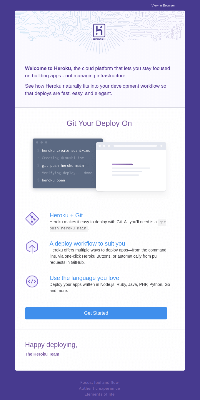 Git your deploy on