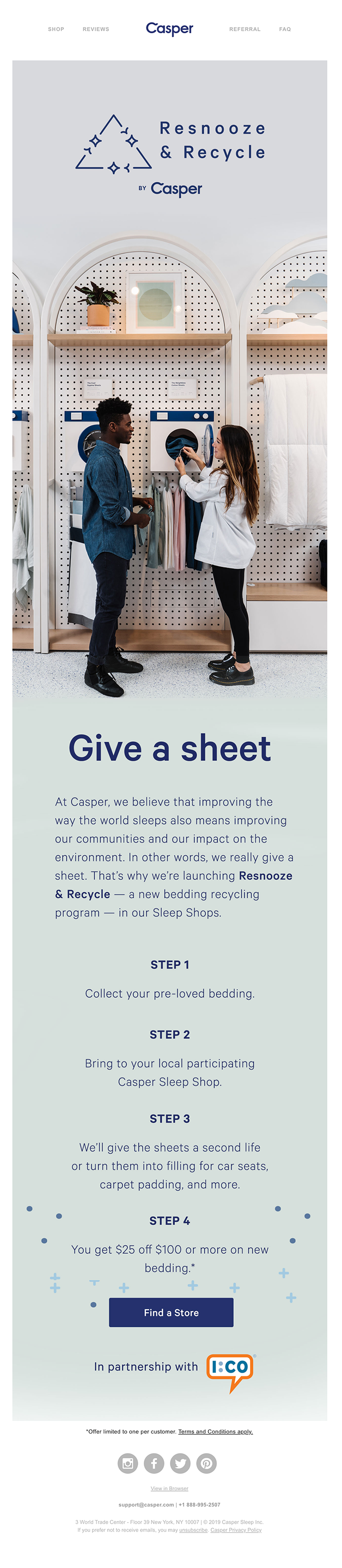 Give a Sheet. Get $25.