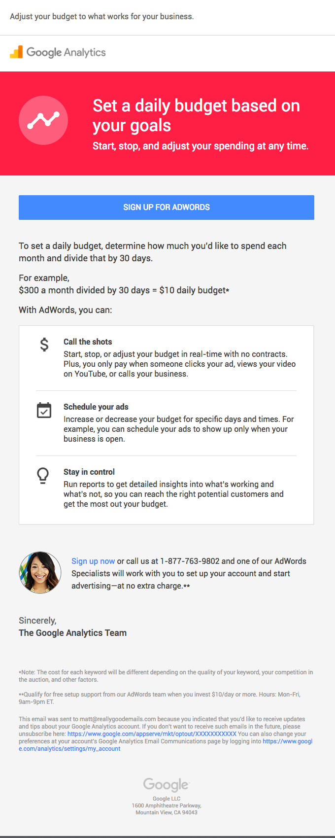 Google AdWords | Take charge of your budget