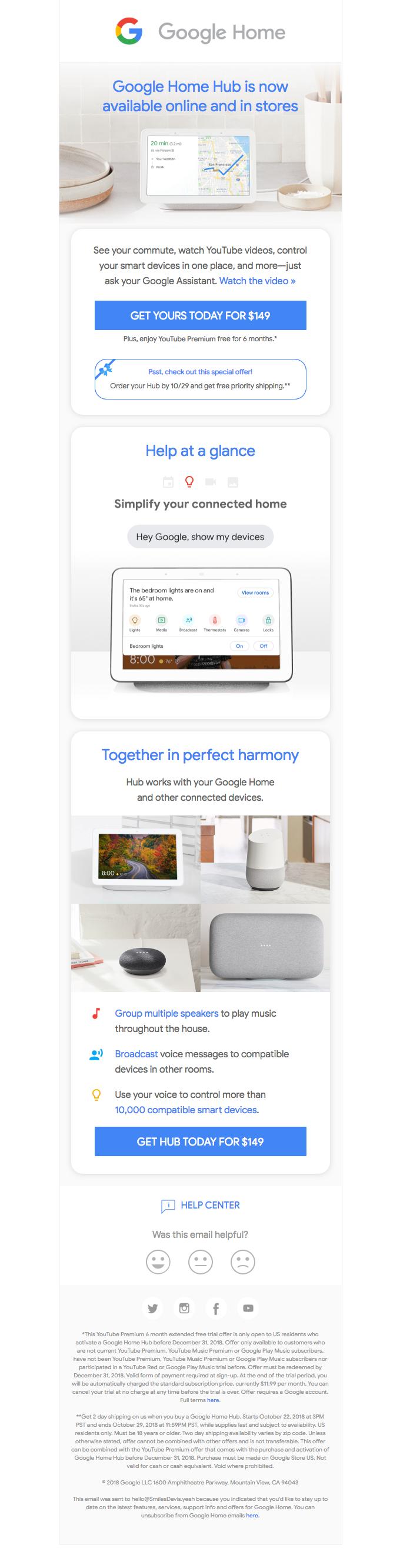 Google Home Hub is here