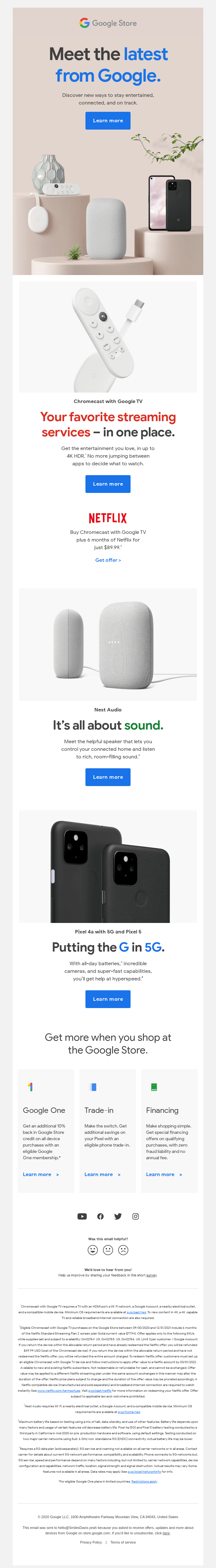 Great new things made by Google