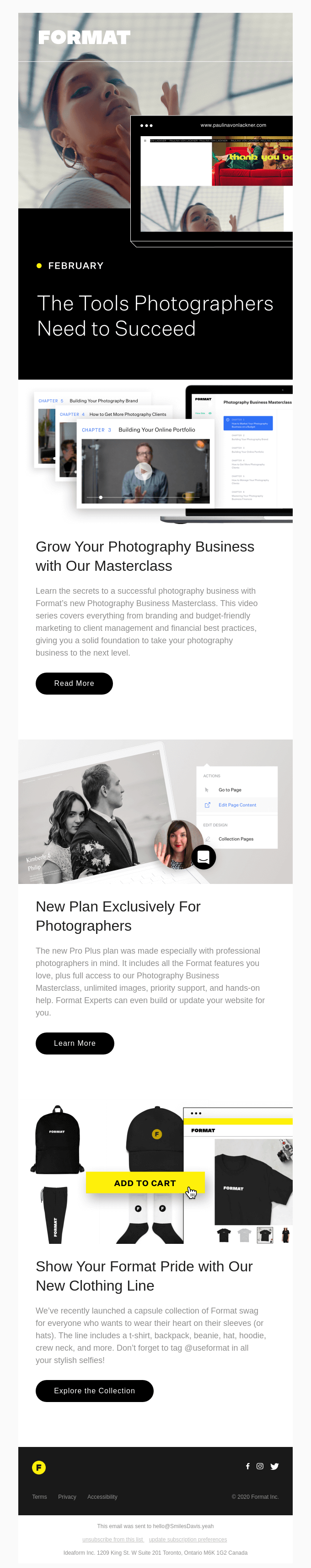 Grow Your Photography Business with Format