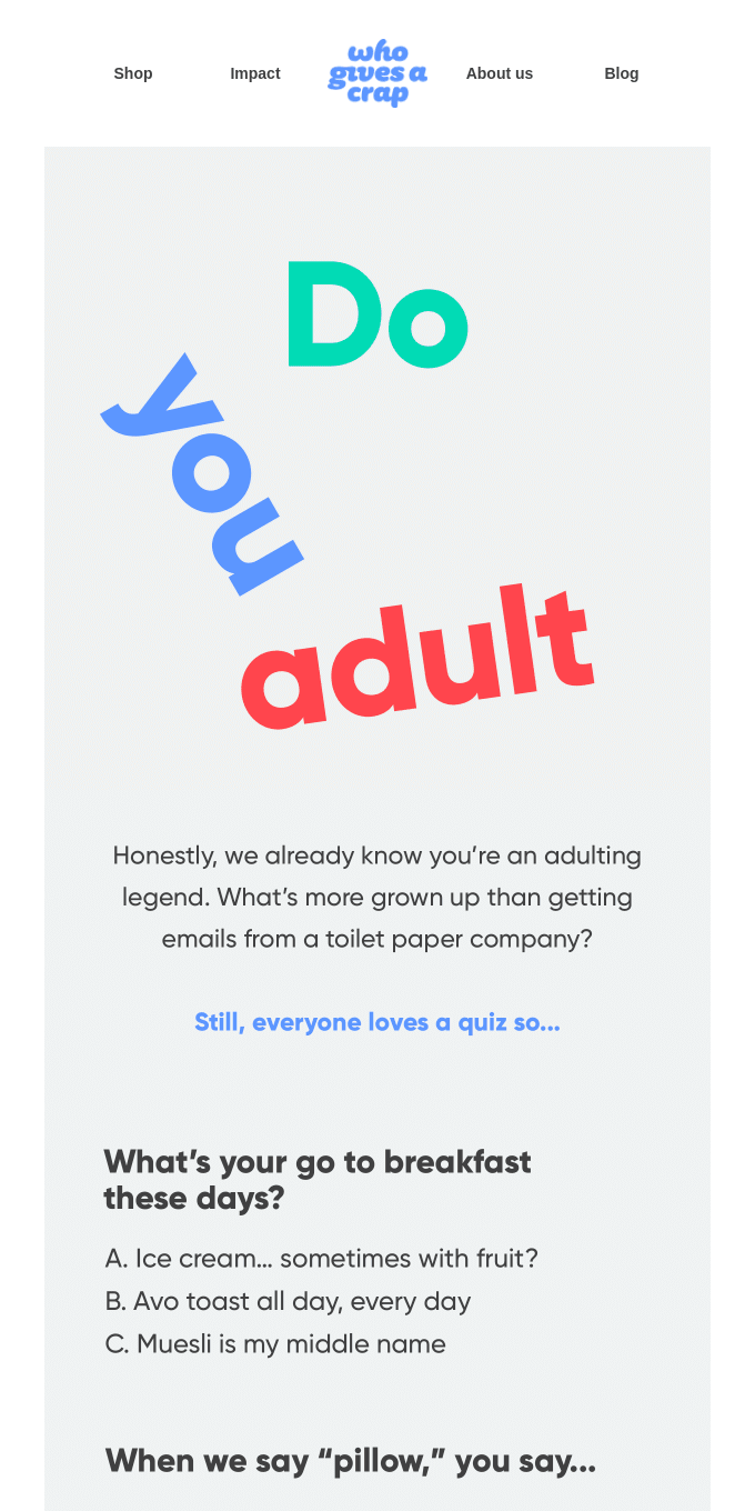 Have you been adulting?
