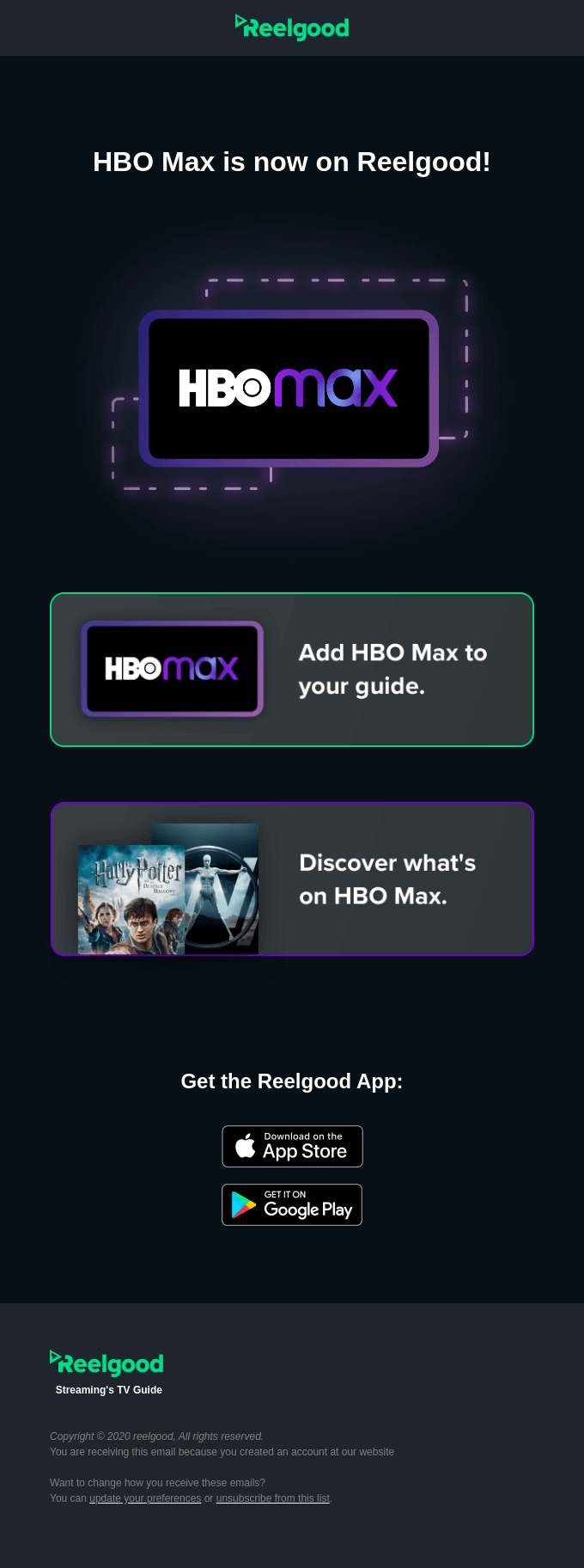HBO Max is here!