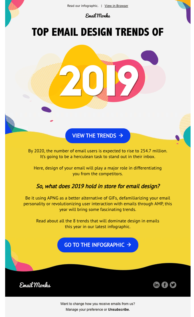 Here are the top Email Design Trends of 2019