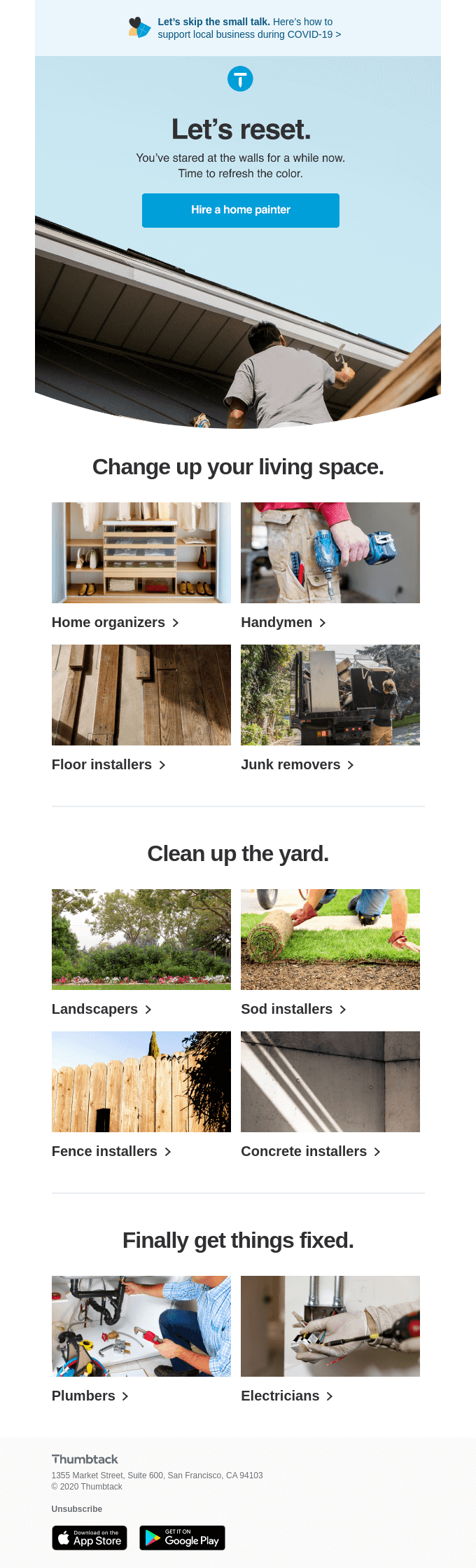 Home projects you can finally get done