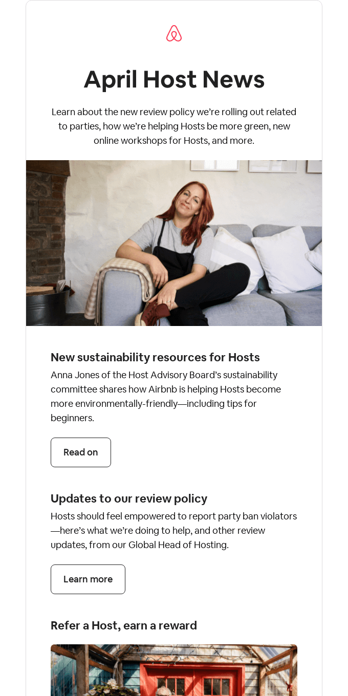 Host News: Updates to our review policy, new sustainability resources, and more