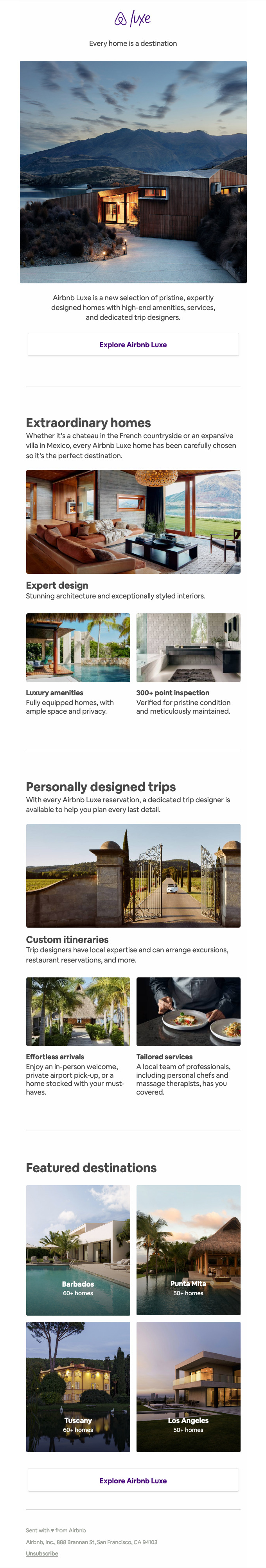 Introducing Airbnb Luxe