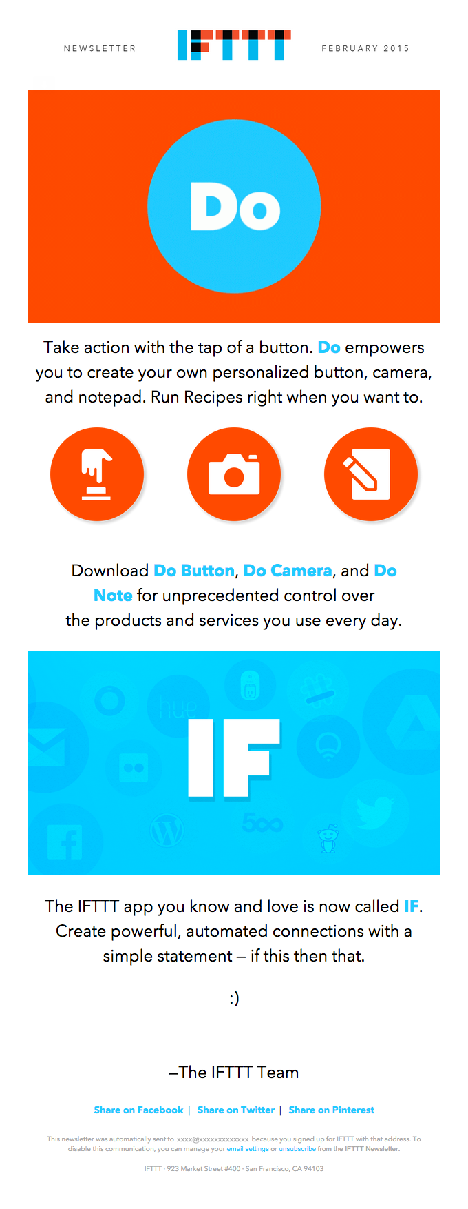 Ifttt Emails on Really Good Emails