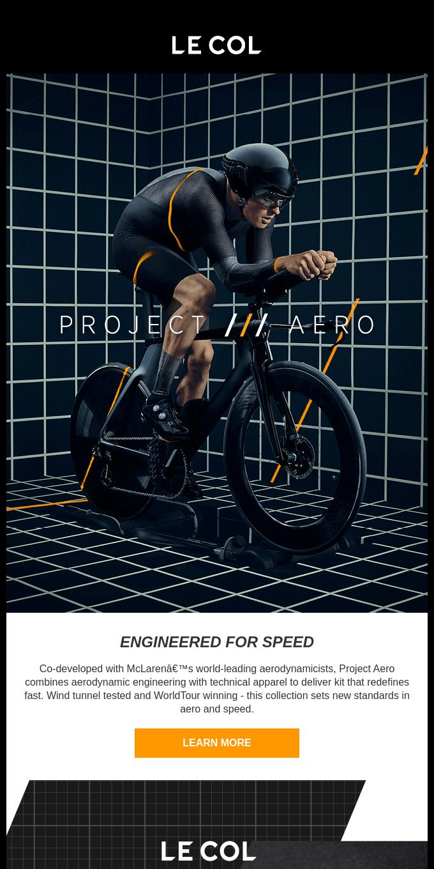 Introducing Le Col x McLaren Project Aero