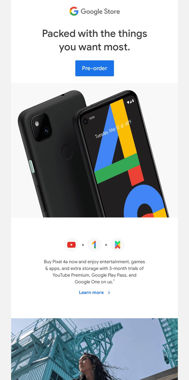 Introducing Pixel 4a