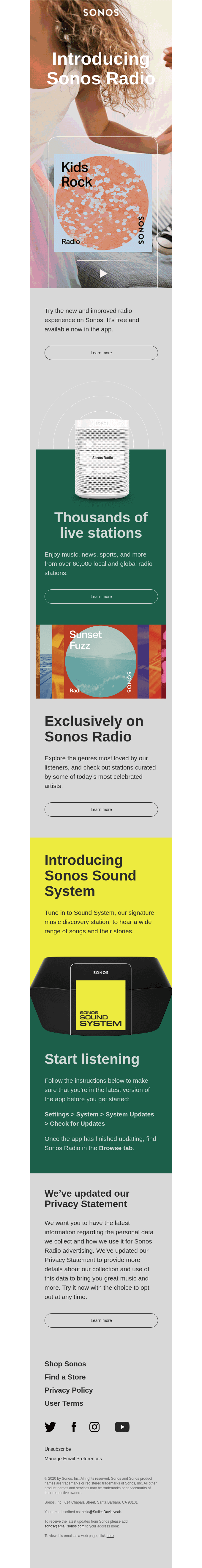 Introducing Sonos Radio