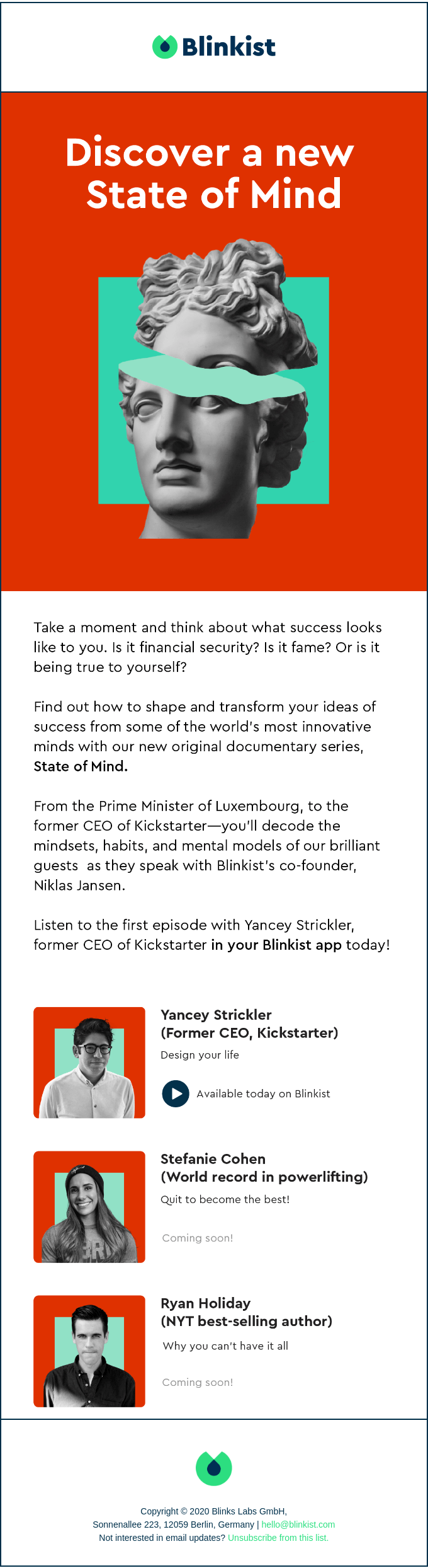 Introducing State of Mind: A Blinkist original series