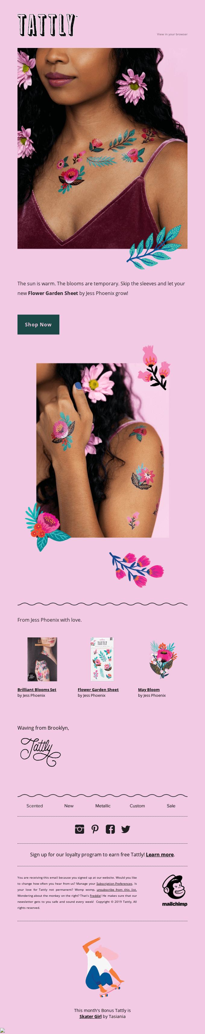 Introducing the Flower Garden Sheet