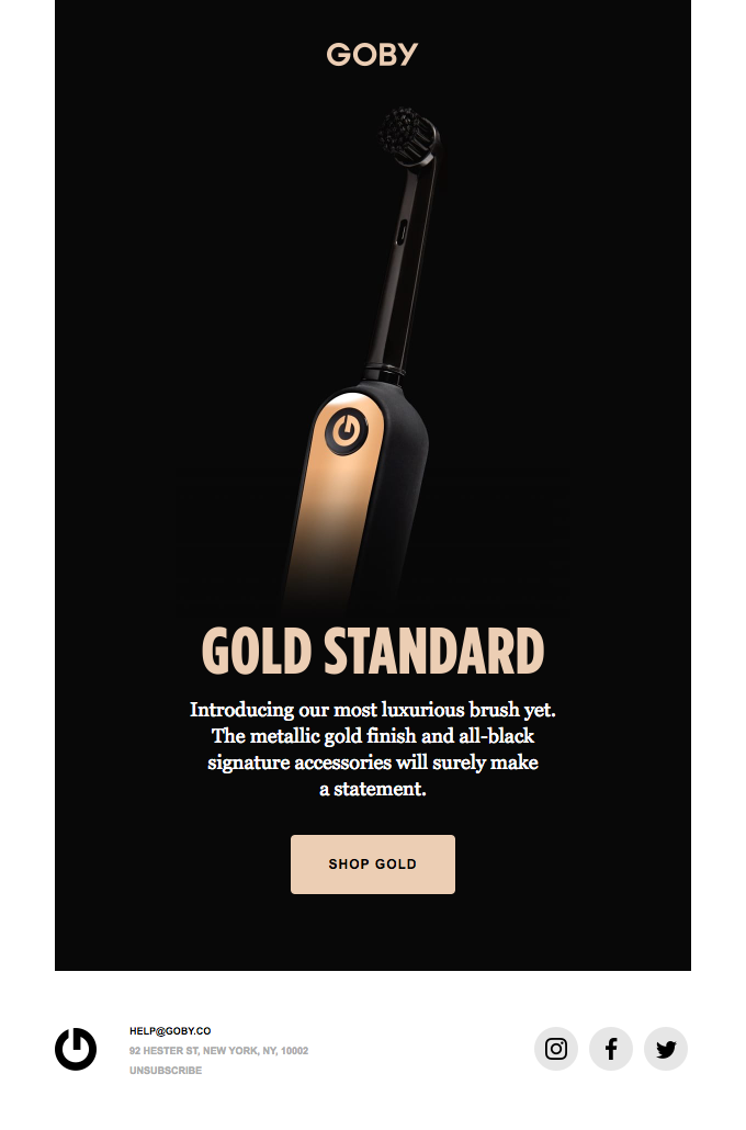 Introducing The Gold Edition