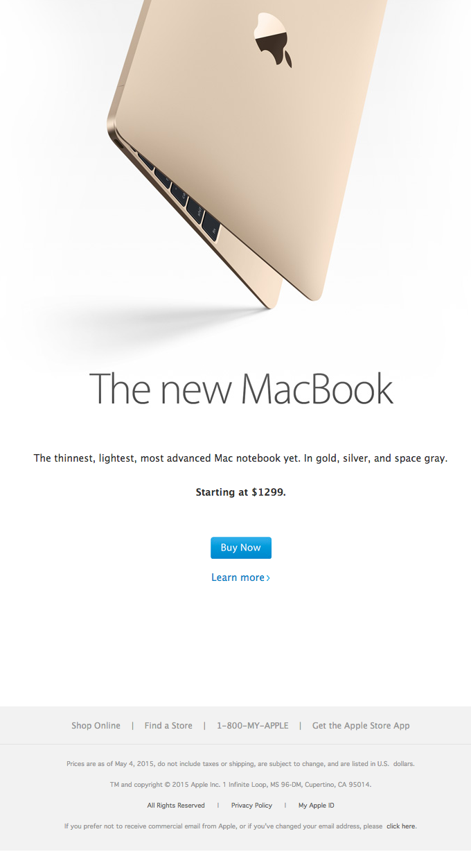 Introducing the new Macbook