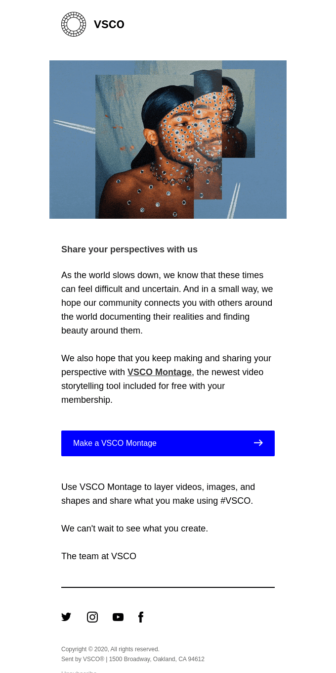 Introducing VSCO Montage