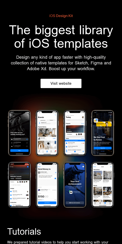 iOS Design Kit