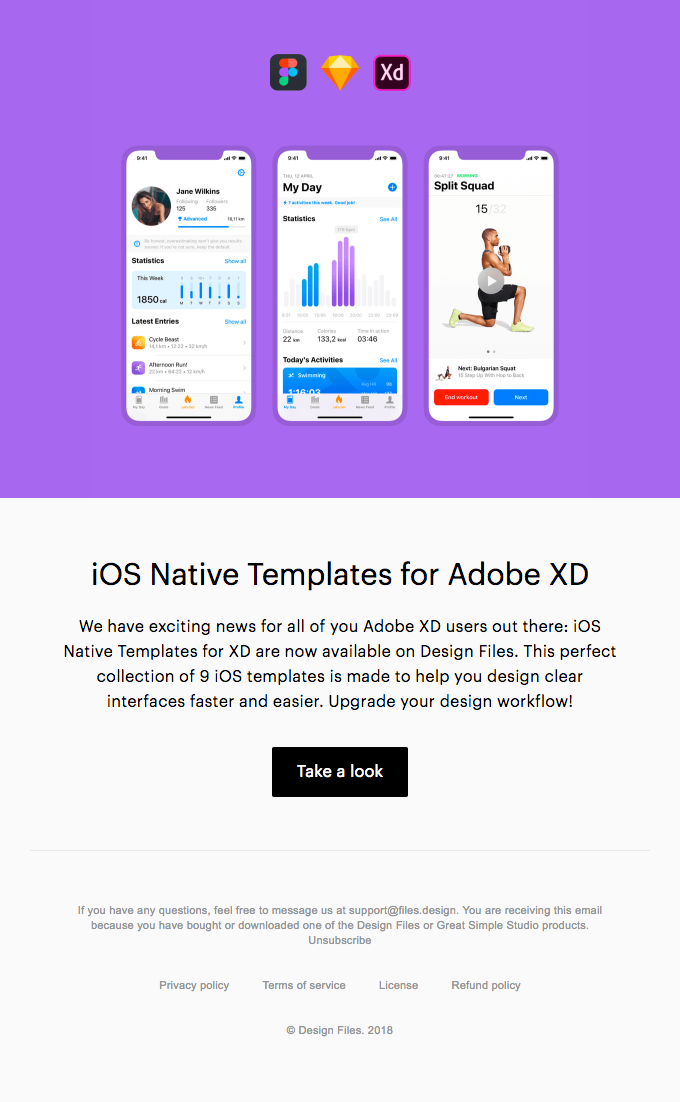 iOS Native Templates for Adobe XD — Available Now!