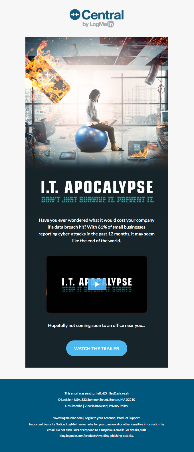 IT Apocalypse: Don't Just Survive. Prevent it.