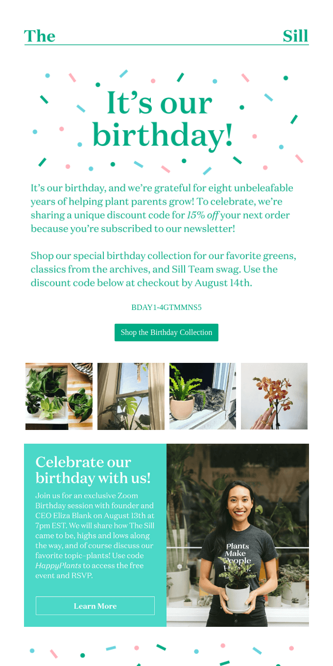 It's our birthday—here's a gift for YOU! 🎁