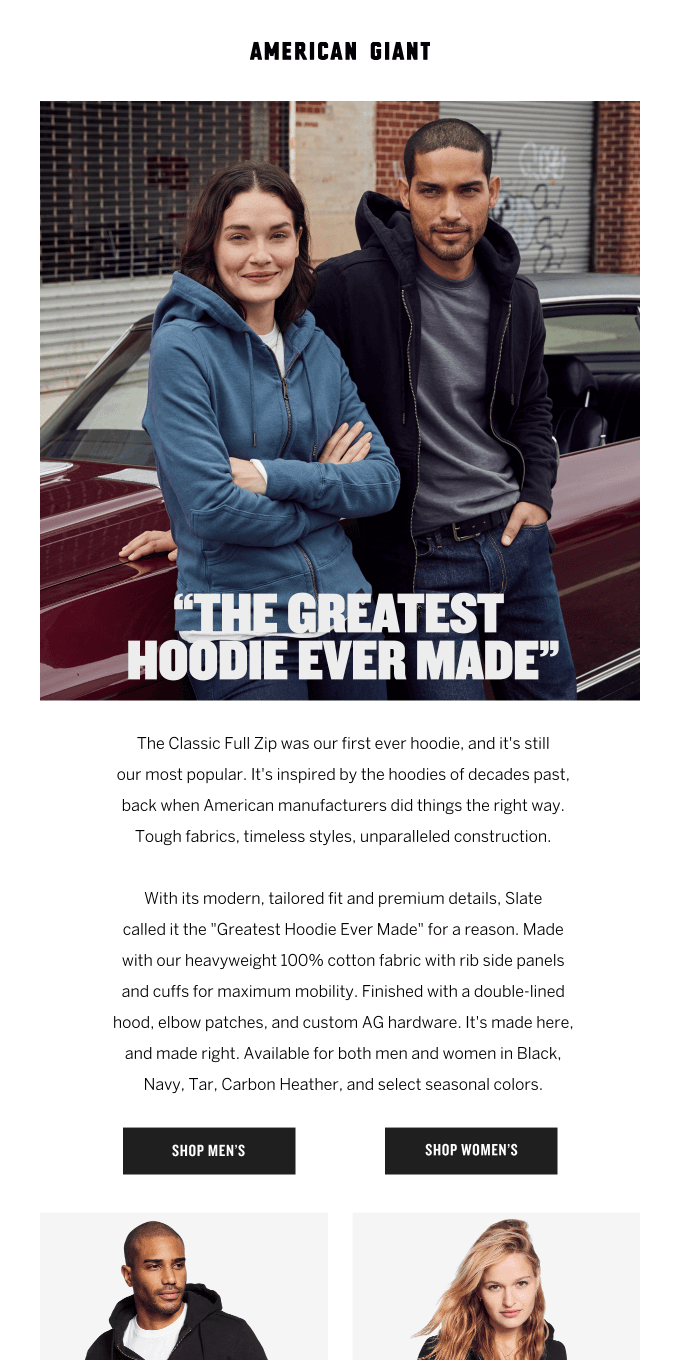"It's ""The Greatest Hoodie Ever Made"" for a reason"