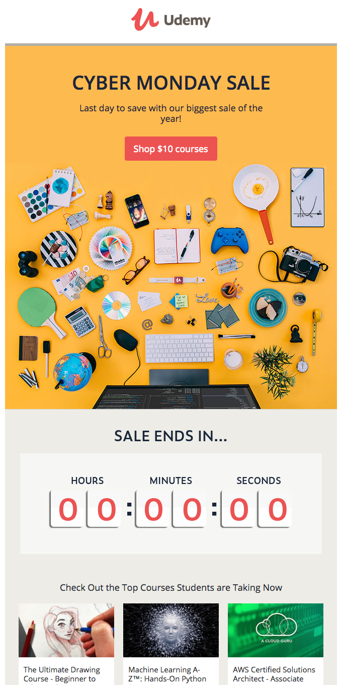 Just hours left of our biggest sale!