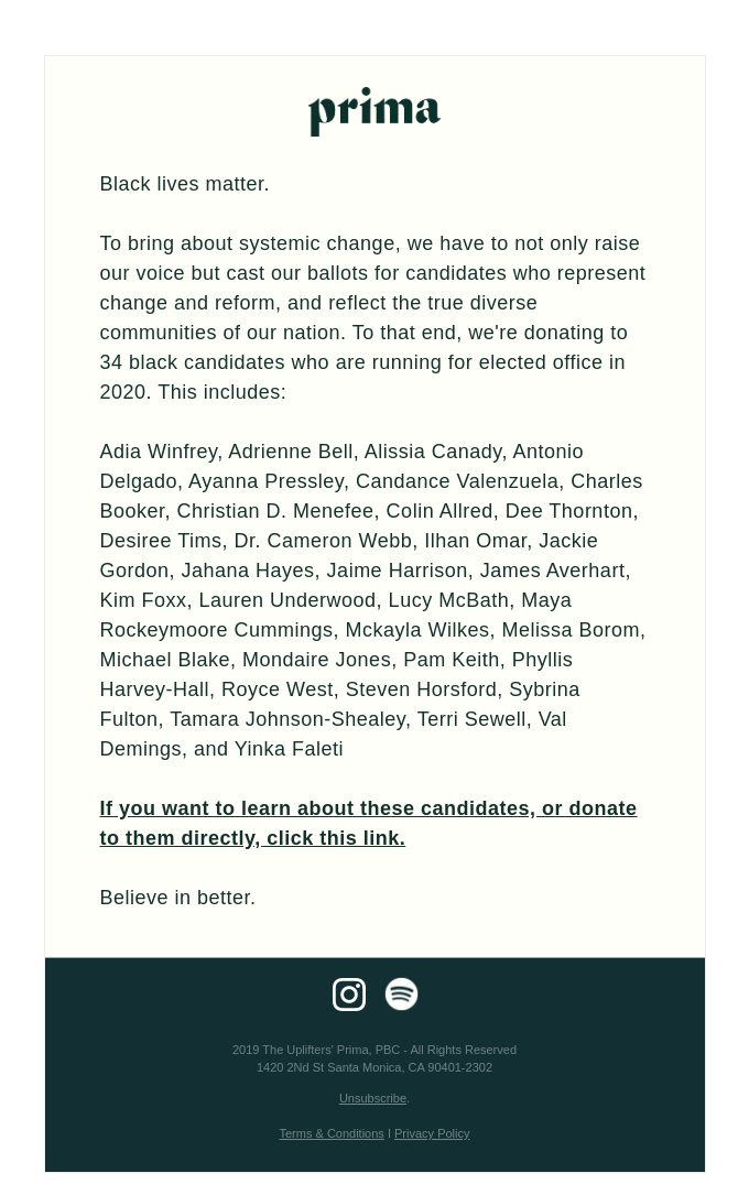 Know and Support Black Candidates