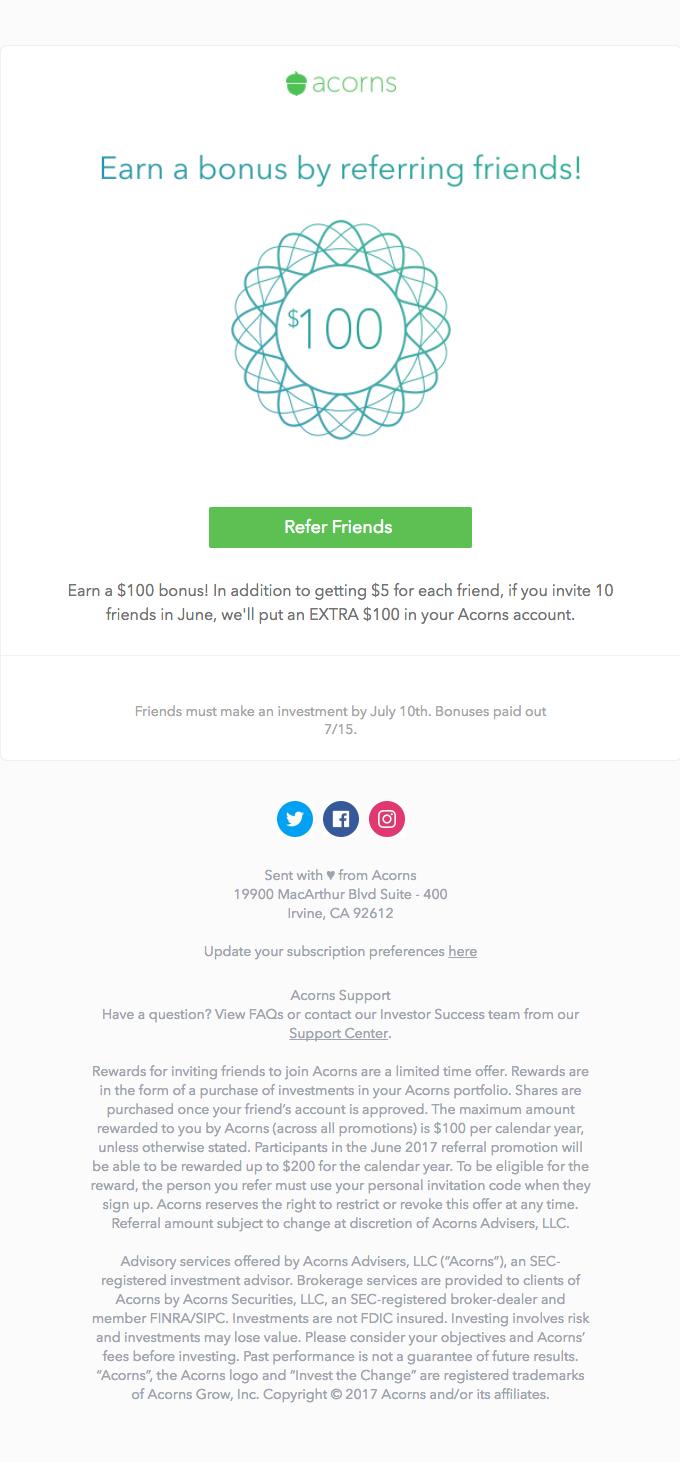 Last Chance to Earn your $100 Bonus