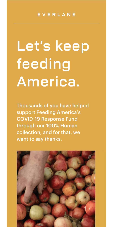 Let's Keep Feeding America