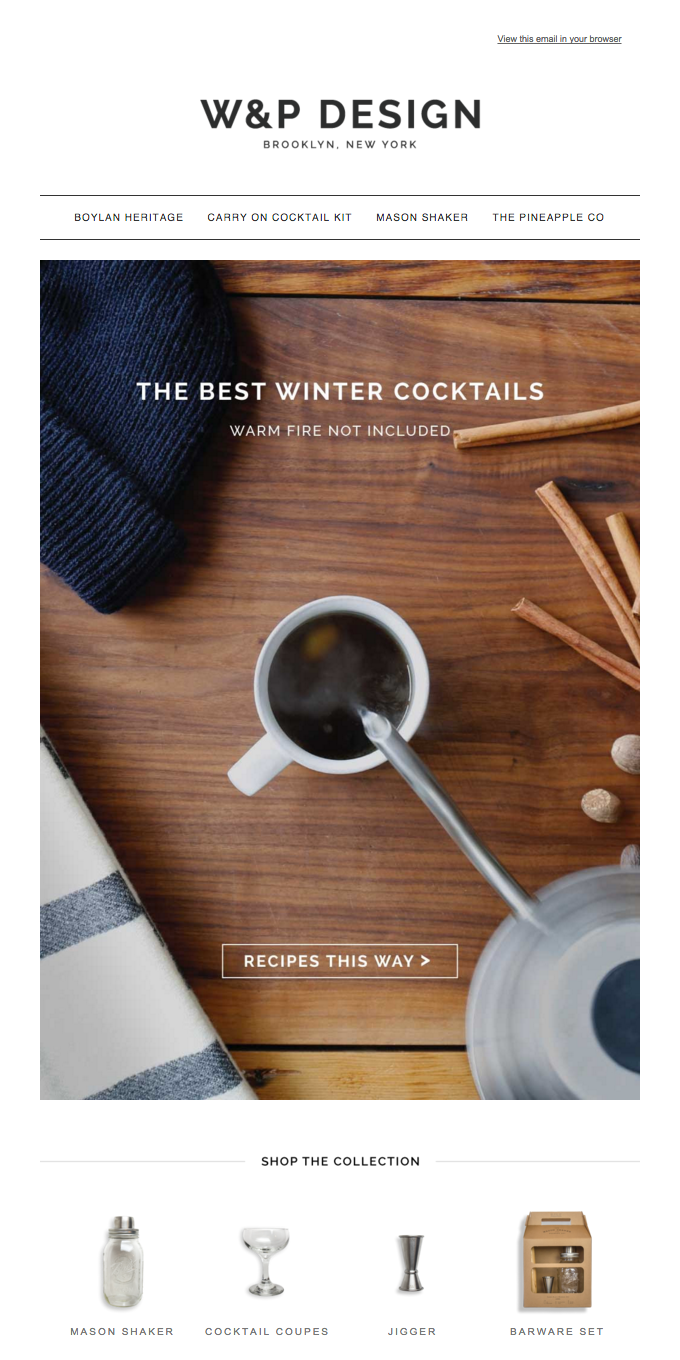 Let's Round It Up – Our Top 5 Winter Cocktails!