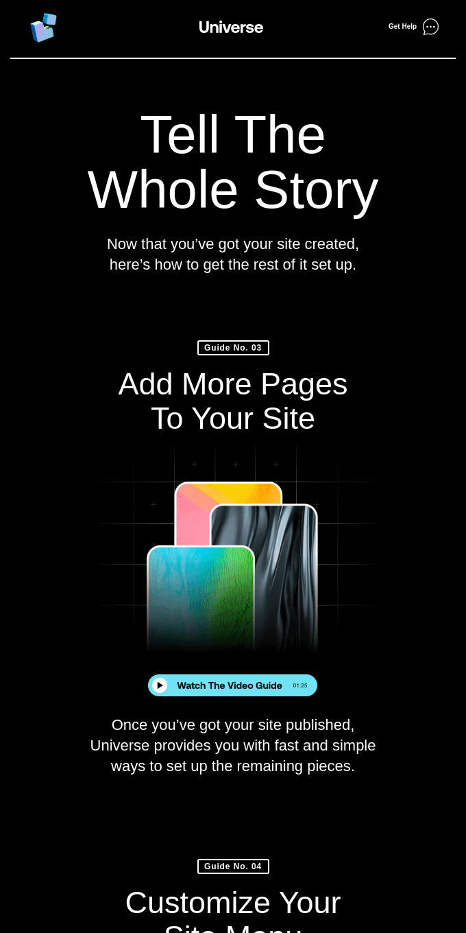 Level up your website
