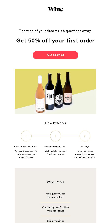 Like Wine? Try Winc!