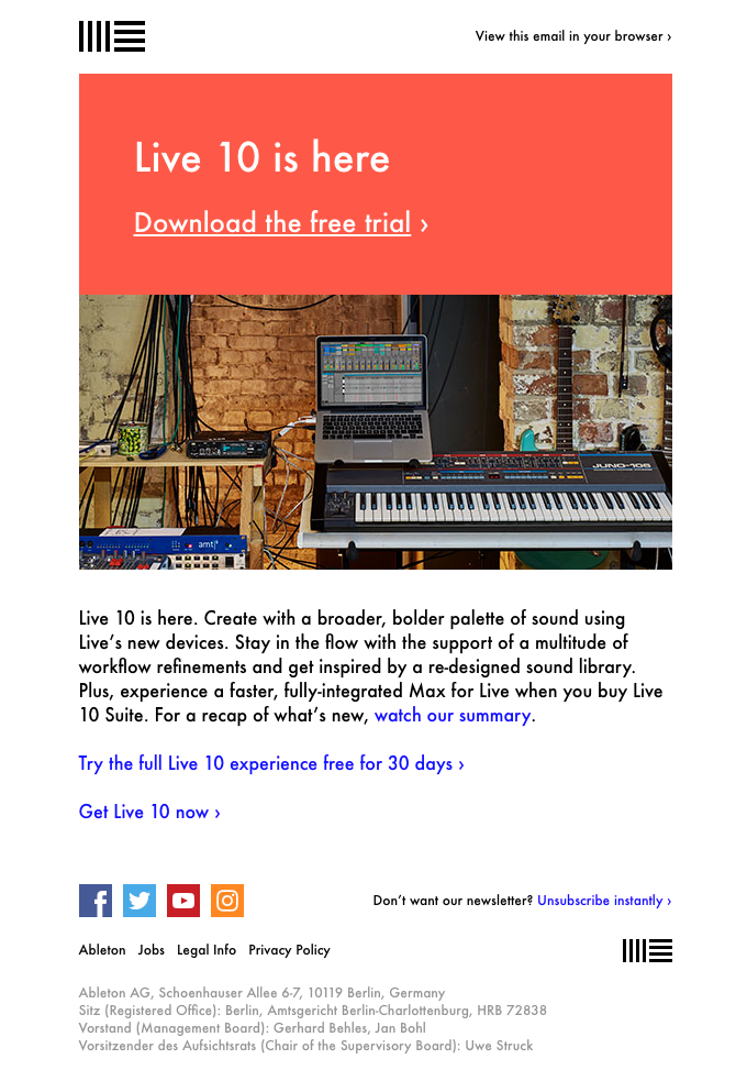 Live 10 is here! Try it for free for 30 days