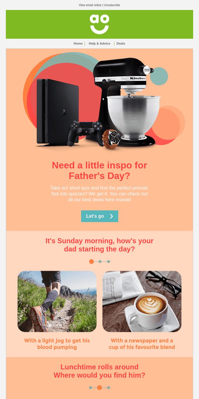 Looking for some Father's Day inspiration?