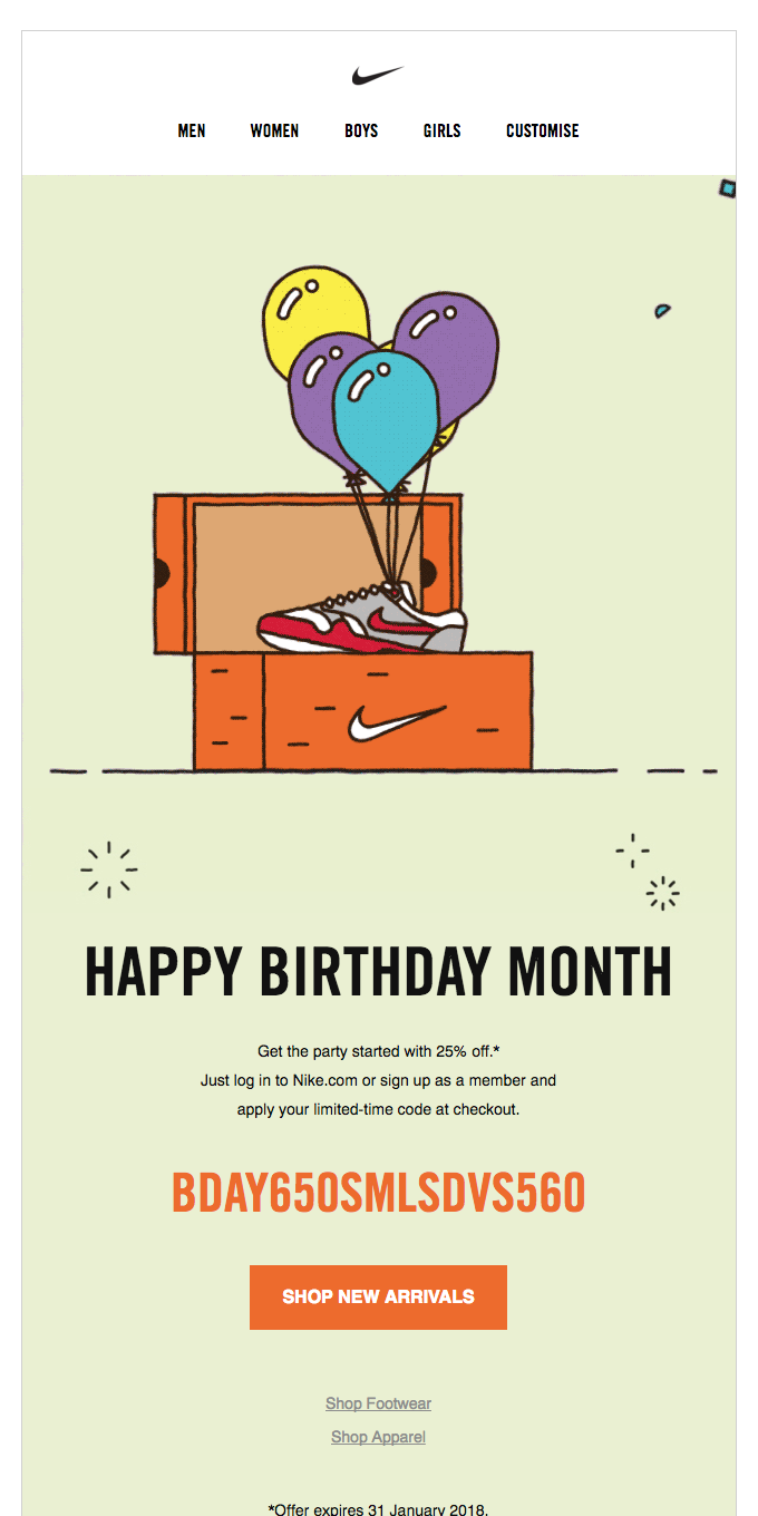 Lucky You: It's Your Birthday Month!