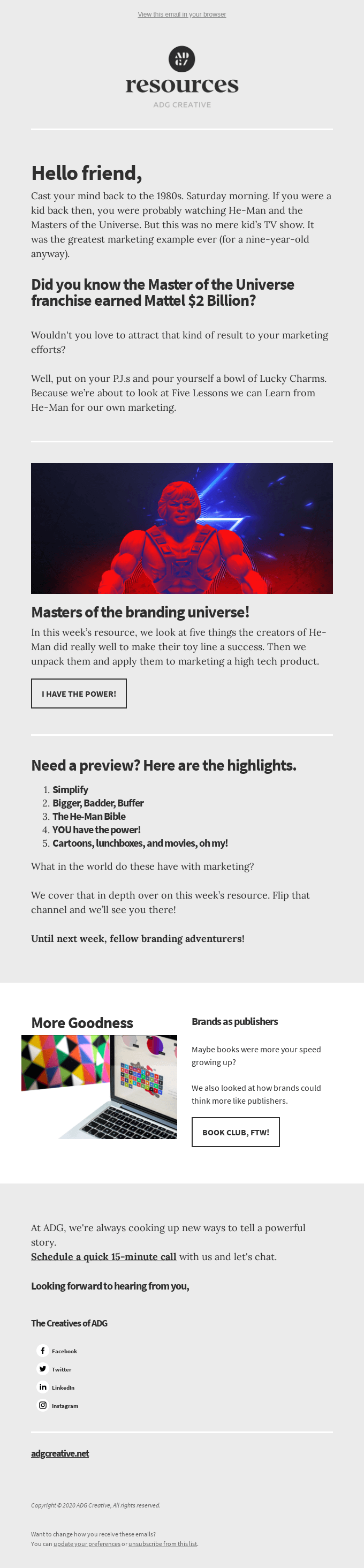 Masters of the Branding Universe! 💪