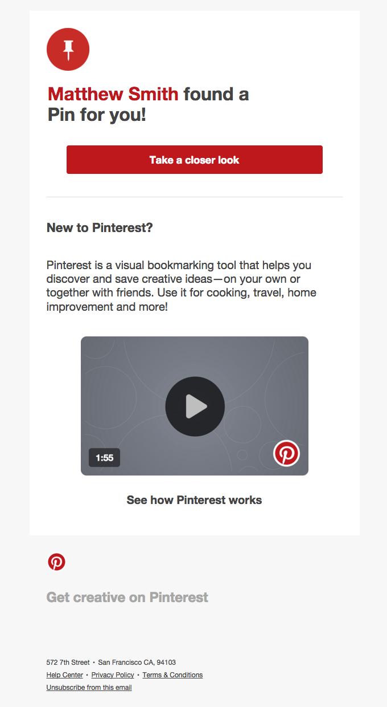Matthew Smith sent you a Pin on Pinterest