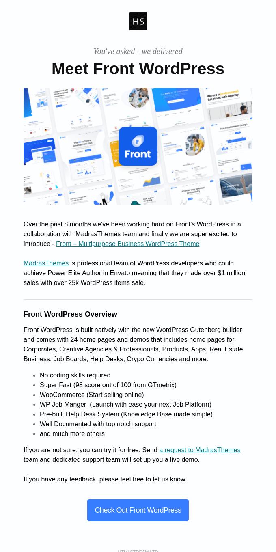 Meet Front WordPress